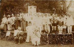 """RARE CARTE PHOTO - 235° REGIMENT D'INFANTERIE FÊTE DU REGIMENT BELFORT- """"MUSIQUE -CIRQUE"""" - TB *** - War 1914-18"""