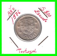 PORTUGAL  /  MONEDA RÉPUBLICA > 5.00 ESCUDOS AÑO 1976 - Portugal