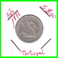 PORTUGAL  /  MONEDA RÉPUBLICA > 5.00 ESCUDOS AÑO 1977 - Portugal