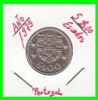 PORTUGAL  /  MONEDA RÉPUBLICA > 5.00 ESCUDOS AÑO 1979 - Portugal