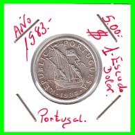PORTUGAL  /  MONEDA RÉPUBLICA > 5.00 ESCUDOS AÑO 1983 - Portugal