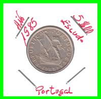 PORTUGAL  /  MONEDA RÉPUBLICA > 5.00 ESCUDOS AÑO 1985 - Portugal