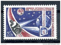 Gabon, 1970, World Communications Day, ITU, Satellite, United Nations, MNH, Michel 359 - Gabon