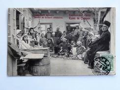 C.P.A. ARMENIA, ARMENIE : Société Des Buveurs Arméniens ,Society Of Armenian Drinkers,  Timbre 1911 - Armenien