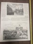 ENV 1880 LE TEMPLE GREC DE BLATON AUBERT BRUGES QUAI VERT - Vieux Papiers