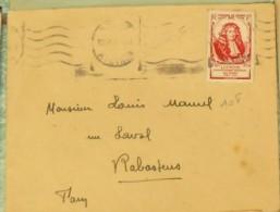 No 779 SEUL SUR LETTRE - Postmark Collection (Covers)