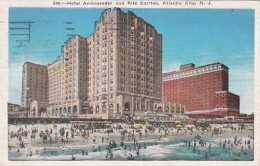 New Jersey Atlantic City Hotel Ambassador and Ritz Carlton 1935