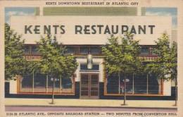 New Jersey Atlantic City  Kents Downtown Restaurant 2124 Atlanti