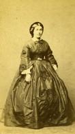 France Vichy Femme Mode Second Empire Ancienne Photo CDV Coutem 1860's - Photographs