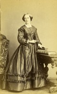 France Paris Femme Mode Second Empire Ancienne Photo CDV Franck 1860's - Photographs