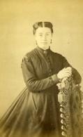 France Paris Femme Mode Second Empire Ancienne Photo CDV Badié 1860's - Photographs