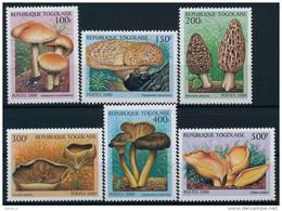 Togo Mushrooms Pilze Set (6) °BM0787 MNH - Paddestoelen