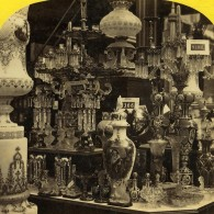 Londres Exposition Universelle De 1862 L'Autriche Ancienne Stereo Photo London Stereoscopic - Stereoscopic