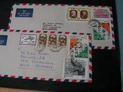 Indien 2 , Schöne Briefe 1986 - India