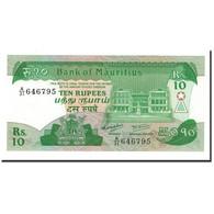 Mauritius, 10 Rupees, 1985, KM:35a, NEUF - Maurice