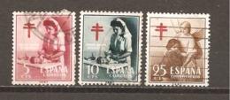 España/Spain-(usado) - Edifil  1121-23 - Yvert  838-39, Aéreo 264 (o) - 1951-60 Usados