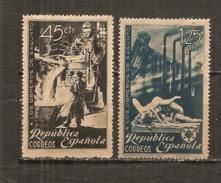 España/Spain-(MH/*) - Edifil  773-74 - Yvert  630-31 - 1931-Today: 2nd Rep - ... Juan Carlos I