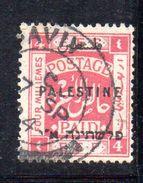 XP3530 - PALESTINA , 4 Mill Usato - Palestina
