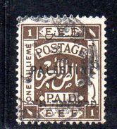 XP3538 - PALESTINA , 1 Mill Usato - Palestina