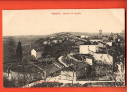 NES-16  Verjon  Canton De Coligny. Quartier  De L'Eglise. Circulé Sous Eneloppe - France