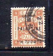 XP3548 - PALESTINA , 3 Mill Usato - Palestina
