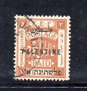 XP3550 - PALESTINA , 3 Mill Usato - Palestina