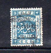 XP3553 - PALESTINA , 3 Mill Verde Azz Usato - Palestina