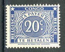 COB Tx74A  **   (CB14) - Congo Belge