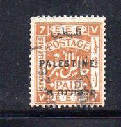 XP3557 - PALESTINA , 7 Mill Verde Usato - Palestina