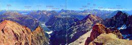 Cortina - Monte Cristallo - Panoramica Dal Rifugio G.lorenzi - Formato Grande Non Viaggiata – Ar - Italia