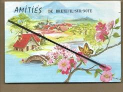 CPM Fantaisie , Très Souple  - Amitiés De Breteuil Sur Noye - Breteuil