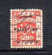 XP3559 - PALESTINA , 8 Mill Rosso  Usato - Palestina