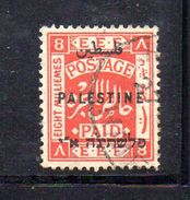 XP3560 - PALESTINA , 8 Mill Rosso  Usato - Palestina
