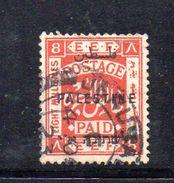 XP3561 - PALESTINA , 8 Mill Rosso  Usato - Palestina