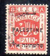 XP3562 - PALESTINA , 8 Mill Rosso  Usato - Palestina