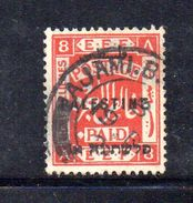 XP3563 - PALESTINA , 8 Mill Rosso  Usato - Palestina