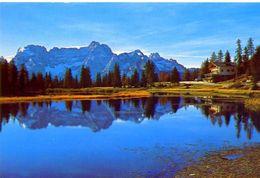 Lago D'antorno - 821 - Formato Grande Non Viaggiata – Ar - Italia