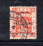 XP3564 - PALESTINA , 8 Mill Rosso  Usato - Palestina