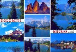 Lago Di Misurina - Formato Grande Viaggiata – Ar - Italia
