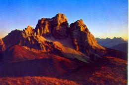 Monte Pelmo - Tramonto - Formato Grande Viaggiata – Ar - Italia
