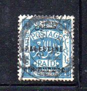 XP3567 - PALESTINA , 1 Piastra Azzurro Usato - Palestina