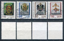DDR Michel-Nr. 3302-3305 Gestempelt - Tagesstempel - Gebraucht