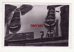 """Photo 9 X 6 Cms  BATEAU-PENICHE """"Henriette""""-BATELLERIE-NAVIGATION FLUVIALE - Barcos"""