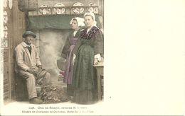 QUIBERON  -étude De Costumes De Q., BELLE-ILE, Chez Un Sinagot      -- Villard 1148 - Quiberon