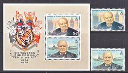 FALKLAND  ISLANDS  235-6a   **   SIR  WINSTON  CHURCHILL - Sir Winston Churchill