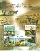 Namibia - 2007 SAPOA 2nd Joint Issue Antelope MS (Silver Type) MS (**) # SG 1090a - Emissions Communes