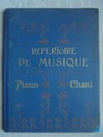Ancien Répertoire De Musique Oeuvres Célèbres Piano Et Chant - Instruments à Clavier