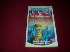 PERRY RHODAN  °°  No 80  °  THE COLUMBUS  AFFAIR - Sciencefiction