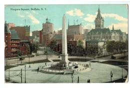 18644     Cpa   BUFFALO  :  Niagara  Square  1912 - Buffalo