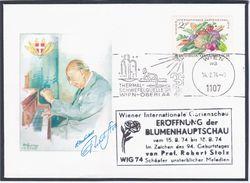 Austria 1974 Wien, Robert Stolz, Composer Music Musique Compositeur Komponist Musik Operetta - Austria